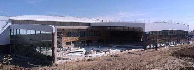 Piscine de Mornant chantier 3