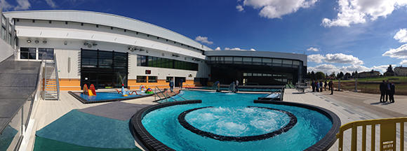 Piscine Mornant inauguré